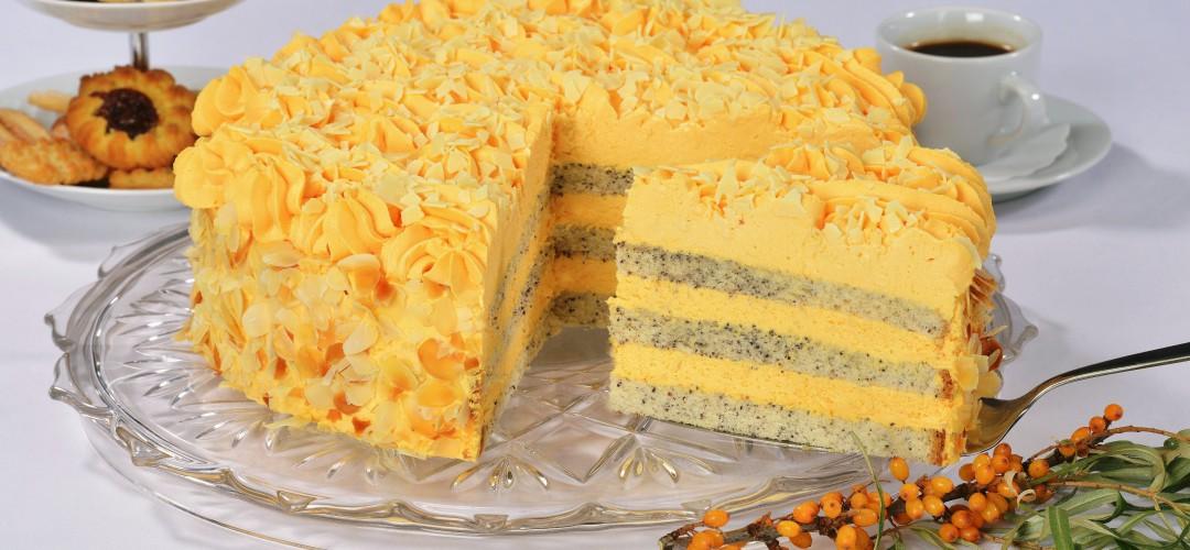 Sanddorn-Torte