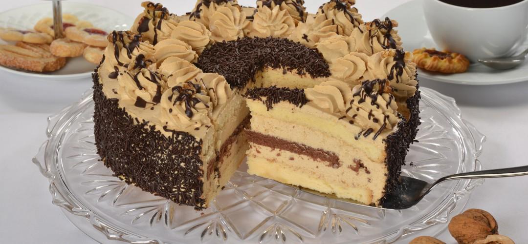 Wallnuss-Torte
