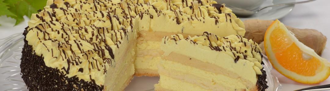 Orangen-Ingwer-Torte